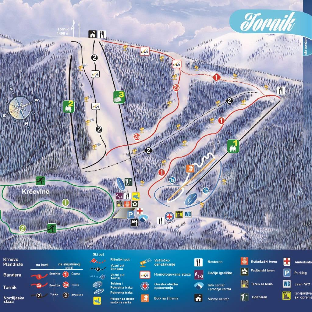 Mountain maps by Marija Nišić
